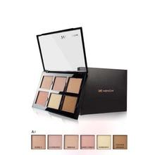 MENOW 6 Cores de Sombra Brilho de Longa Duração Fácil de maquiagem Profissional Kit Nova Naked Paleta de Maquiagem Cosméticos Naturais