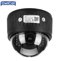 Owlcat hd قبة ptz الأمن wifi ip كاميرا لاسلكية 960 وعاء 1080 وعاء 2.7-13.5 ملليمتر لين 5x التكبير ميكروفون الصوت nightvision onvif sd بطاقة