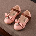 stylish design baby girl shoes cute beading bowknot princess for spring and autumn PU leather shoes 3 colors