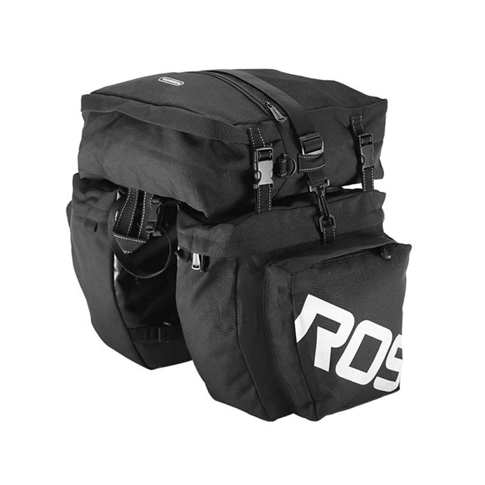 Roswheel Large Capacity 37L Cycling Bag Mtb Bicycle Bike bag Package Pannier Mountain Bike Trunk Pack Bags Bike Accessories high quality big capacity cycling bicycle bag bike rear seat trunk bag bike panniers bicycle seat bag accessories bags cycling