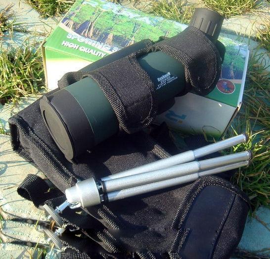 Toppkvalitet Taktisk 20x50 Jaktteleskop SPOTTING SCOPE Fågelteleskop, singelrör utomhusresor Teleskop med stativ