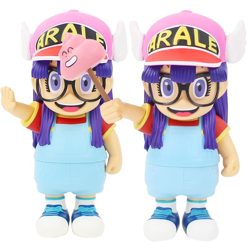 20cm Anime Cartoon Dr.Slump Arale with Faeces PVC Action Figure Model Toy