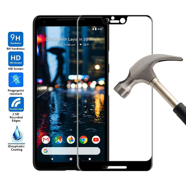 Tempered Glass For Google Pixel 4 3 2 3A XL 3XL 3 Lite Full Body Glas Film For Google Pixel 3 XL Screen Protector Toughened Film