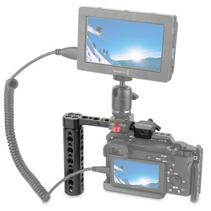 """Image 5 - SmallRig Outrigger Nato Handle With 1/4"""" and 3/8"""" Threaded Holes For Universal Camera Cage/Monitor/Magic Arm  1534"""