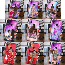 Woman Fashion girl For Huawei P8 P10 P20 P30 Mate 10 20 Honor 8 8X 8C 9 V20 20i