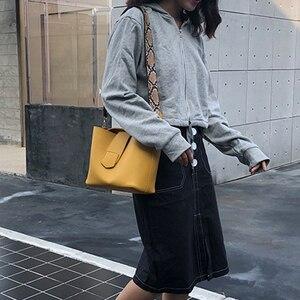 Image 2 - Rahat Pu kova çanta kadın çanta moda serpantin kayış omuz çantaları bayan büyük kapasiteli Messenger Crossbody çanta 2019 Sac