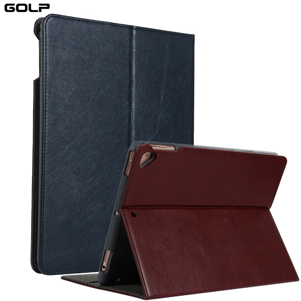 все цены на for ipad 2017 Case with Pencil Holder For iPad pro 9.7 inch PU Leather Smart Cover for ipad air 2 flip case for ipad 9.7 2018