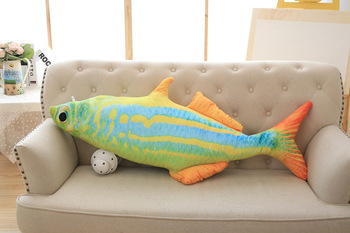 big creative plush Tropical Fish toy stuffed colourful fish design pillow gift about 120cm 2952