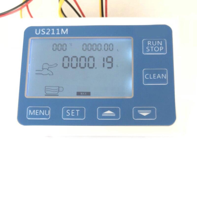 Lecteur de capteur de débitmètre d'eau de contrôleur quantitatif de Machine de Dosage de Us211M C21Tx avec le Usc Hs21Tx 1 30l/Min 24V Displayer, ue - 6