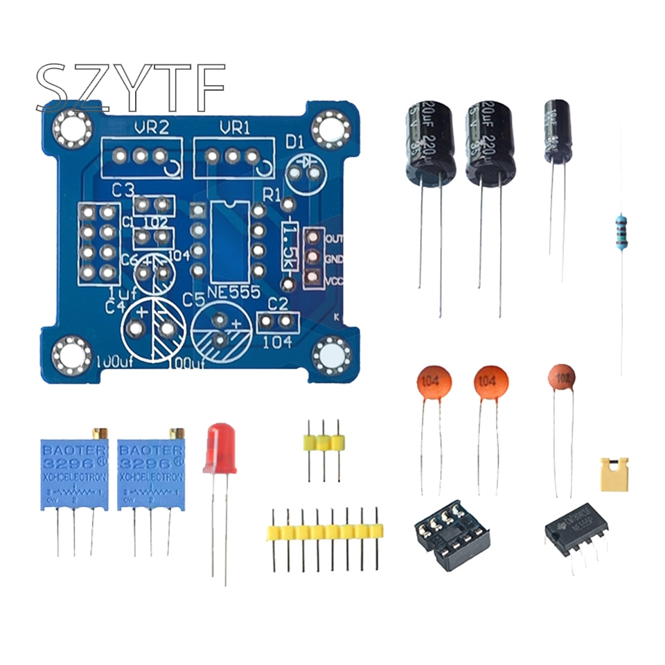 40bit Ws2812b 5050 Rgb Led Lights Built In Full Color Circular Drive Capasitor Mkm 100nf 104 Ne555 Pulse Frequency Duty Cycle Square Wave Rectangular Waveform Signal Generator Module Stepper Motor