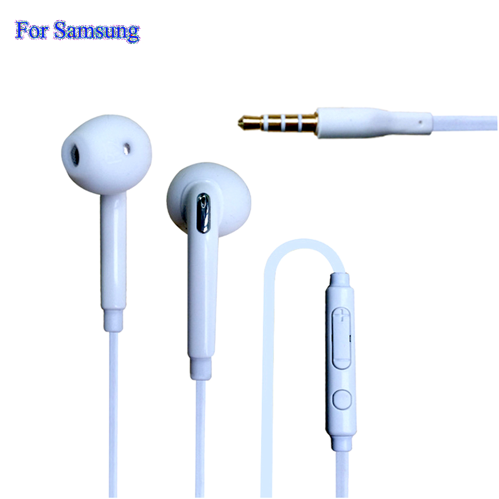 Hot General Stereo In Ear Earphones 1 Meter With Microphone For Samsung Galaxy S7 S6 S5 S4 S3 Edge G9200 Note 7 6 5 4 Phones B99