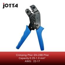 Купить с кэшбэком SN-28B crimping tool crimping plier 2 multi tool tools hands Mini European Style Crimping Plier