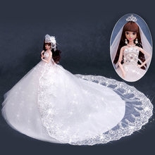 Change Dress Removable Princess Dolls Toys For Girls Lol Dolls Wedding Dress Up Toy Reborn Doll Lol Toys For Children lol shell doll toys for girls godd quantly lol pearl dolls for kids child children blue and green stand by one piece generation