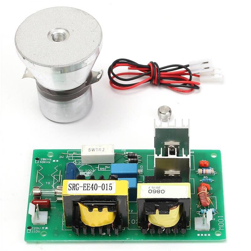 Горячая TOD-100w 28 кГц ультразвуковой чистящий преобразователь очиститель высокая производительность+ плата драйвера питания 220vac части ультразвукового очистителя