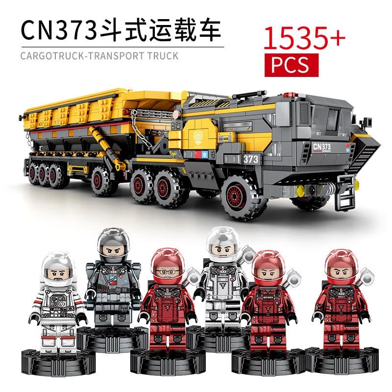 1535pc kinderen bouwstenen speelgoed Aarde zwerven Compatibel Legoingly technic city Grote emmer carrier verjaardagscadeau Baksteen-in Modelbouwen Kits van Speelgoed & Hobbies op  Groep 1