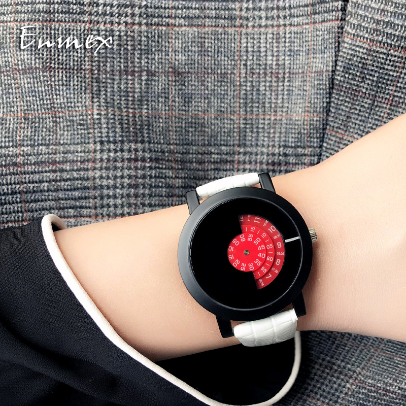 Señoras regalo nuevo estilo reloj Enmex diseño creativo buenas - Relojes para mujeres
