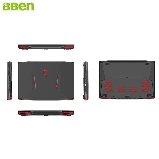 BBEN Laptop Gaming Computer Intel i7 Kabylake GDDR5 NVIDIA GTX1060 Windows 10 8G/16G/32G RAM RGB 5
