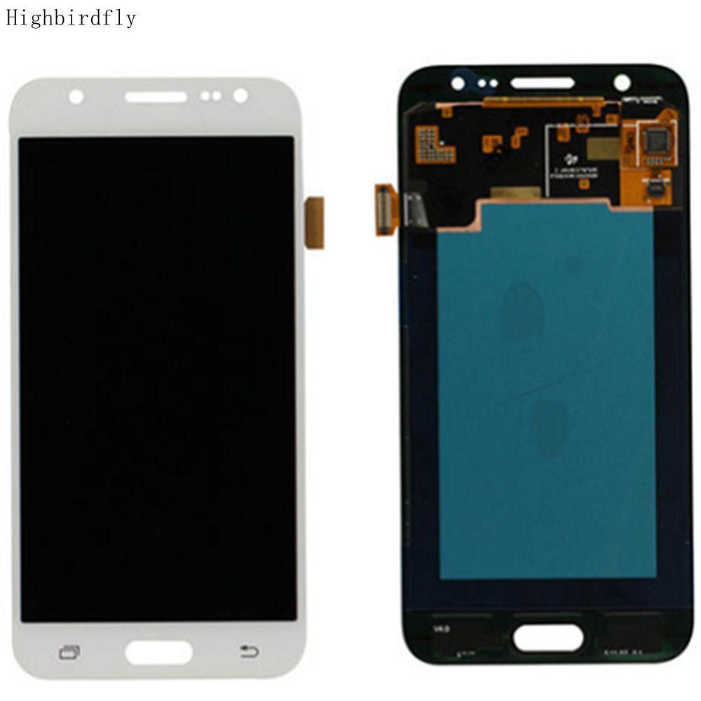 Amoled pour Samsung J5 2015 J500 J500FN J500Y J500M J500H écran Lcd + écran tactile en verre numériseur réparation Amoled