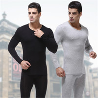 Men S Modal Silk Pajamas Breathable Sets Man Cotton Long Pants Tops High Quality Sleepwear Casual