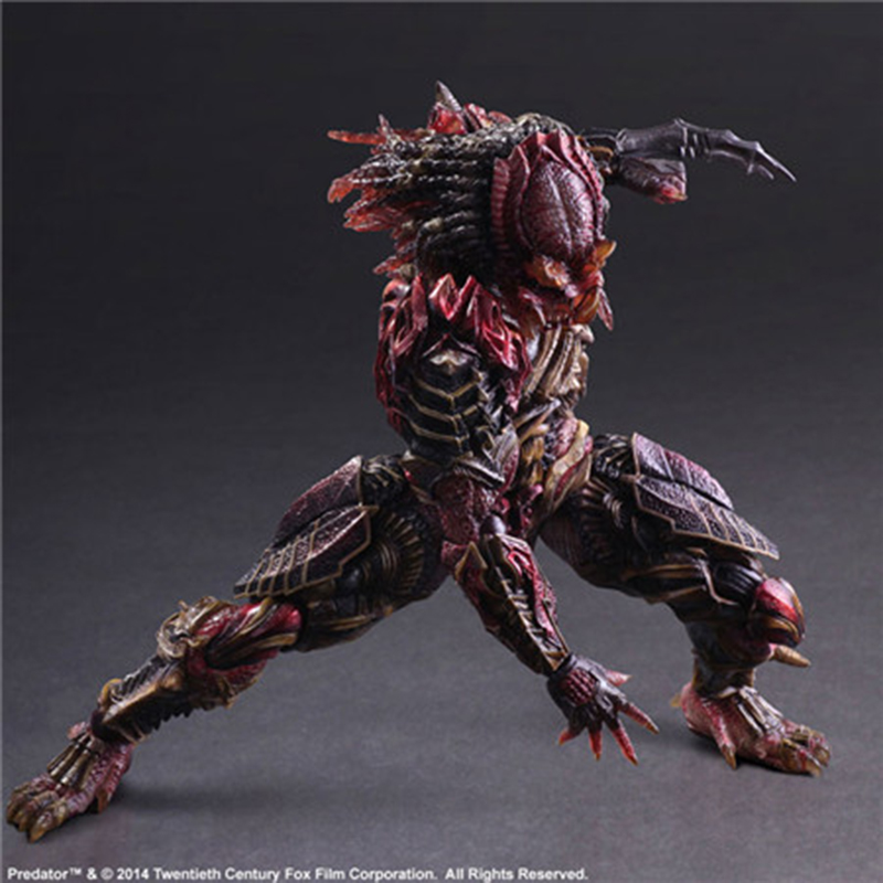 ФОТО Wolves World Play Arts AVP Predator Scar Predator toys PVC Action Figure Collectible Model Toy Playarts figurine Model PA0016