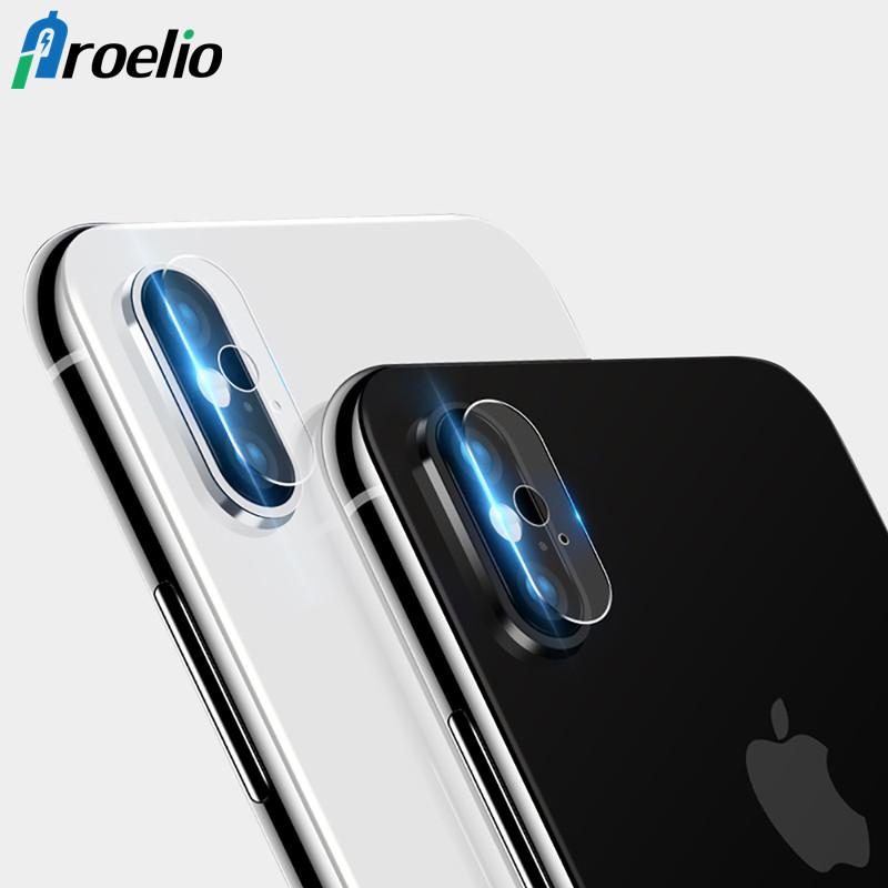 Proelio Camera lens Screen Protector for iphone X 10 HD Clear Camera Tempered Glass For iphoneX Anti-scratch Seamless covering