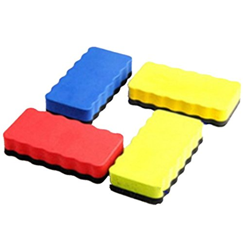 Pack Of 12 Magnetic Board Cleaner Eraser In Whiteboard