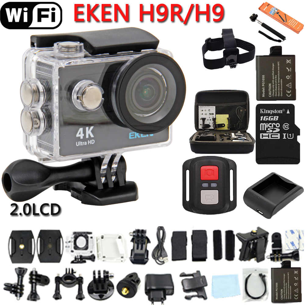 ФОТО Original Eken H9 / H9R  Ultra HD 4K  WiFi Action Camera Remote Control Sports Video Cam  DVR DV go Waterproof pro Camera
