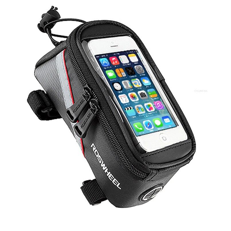Bicycle Bag Waterproof MTB Bike Front Top Frame Handlebar Bag Bike Accessories For 5.5 Cellphone wholesale #2a09 (2)