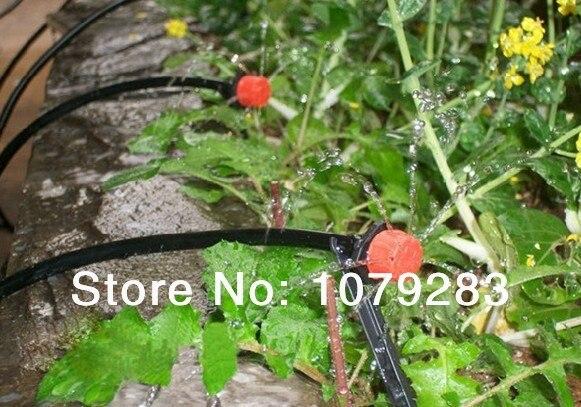 Dripper DIY Bitki Özü Suvarma Bağ Hortumu Mikro Damcı Suvarma - Bağ üçün - Fotoqrafiya 5