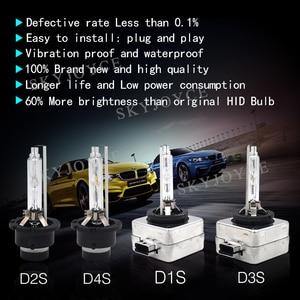 Image 4 - 2021 החדש 55W D1S HID הנורה D1S D1R D2R D3S D4R D4S 55W D2S HID פנס 4300K 6000K 8000K 35W D3S HID קסנון הנורה D4S HID אור