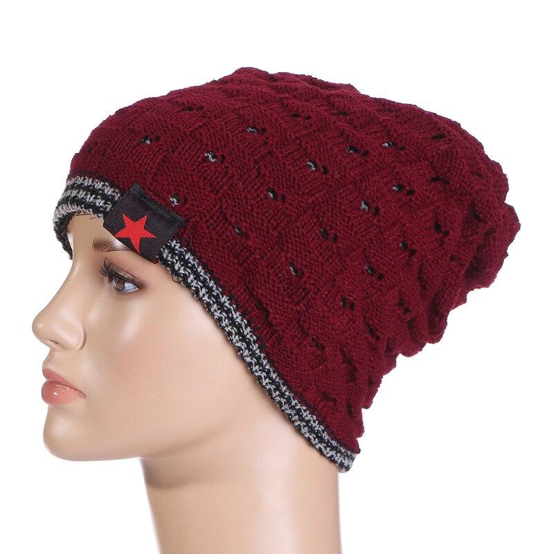 New Fashion Unisex Apparel Accessories Men & Women Casual Dot Knit Beanie Baggy Cap Warm Winter Hat LB