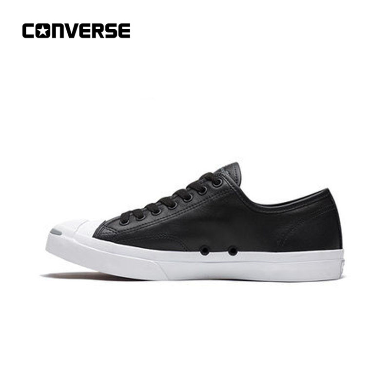 New Arrival Authentic CONVERSE All Star Jack Purcell Jack Leather Opening  Trend Street Teen Skateboarding Shoes f2613fa0d