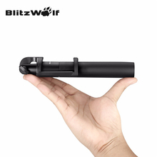 BlitzWolf Универсальный BW-BS2 Bluetooth Выдвижной Складной Регулируемый Selfie Палка Телефон Монопод 3.5-6 Дюймов Зажим Для iPhone 7