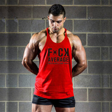 Gyms Stringer Cotton Fitness Clothing Bodybuilding Tank Top