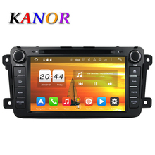 KANOR 8 inch Android 6.0 8 Core 4G Car Multimedia Player For Mazda CX-9 With DVD GPS Navigation Bluetooth USB SD WIFI Map