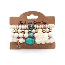 Crystal Candy Tassel Bracelets