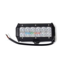 2PCS 7 INCH 36W LED LIGHT BAR combon BEAM OFF ROAD SUV 4X4 WORK LIGHT LAMP FOR CAR TRACTOR BOAT Hunt MILITARY EQUIPMENT 12V 24V