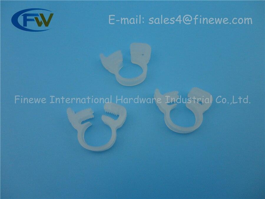 Aliexpress.com : Buy Nylon plastic round tube clamp,clamp wreath ...