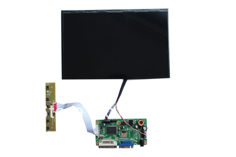 DVI+VGA+Audio of TFT LCD controller board +LVDS cable +OSD keypad with cable +N101ICG-L21 dvi vga audio tft lcd controller board lvds cable inverter osd keypad 21 5 inch lcd panel lm215wf3 slk1 with 1920 1080