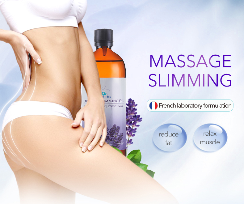 Natural Pure Slimming Body Massage Oil 100% 7