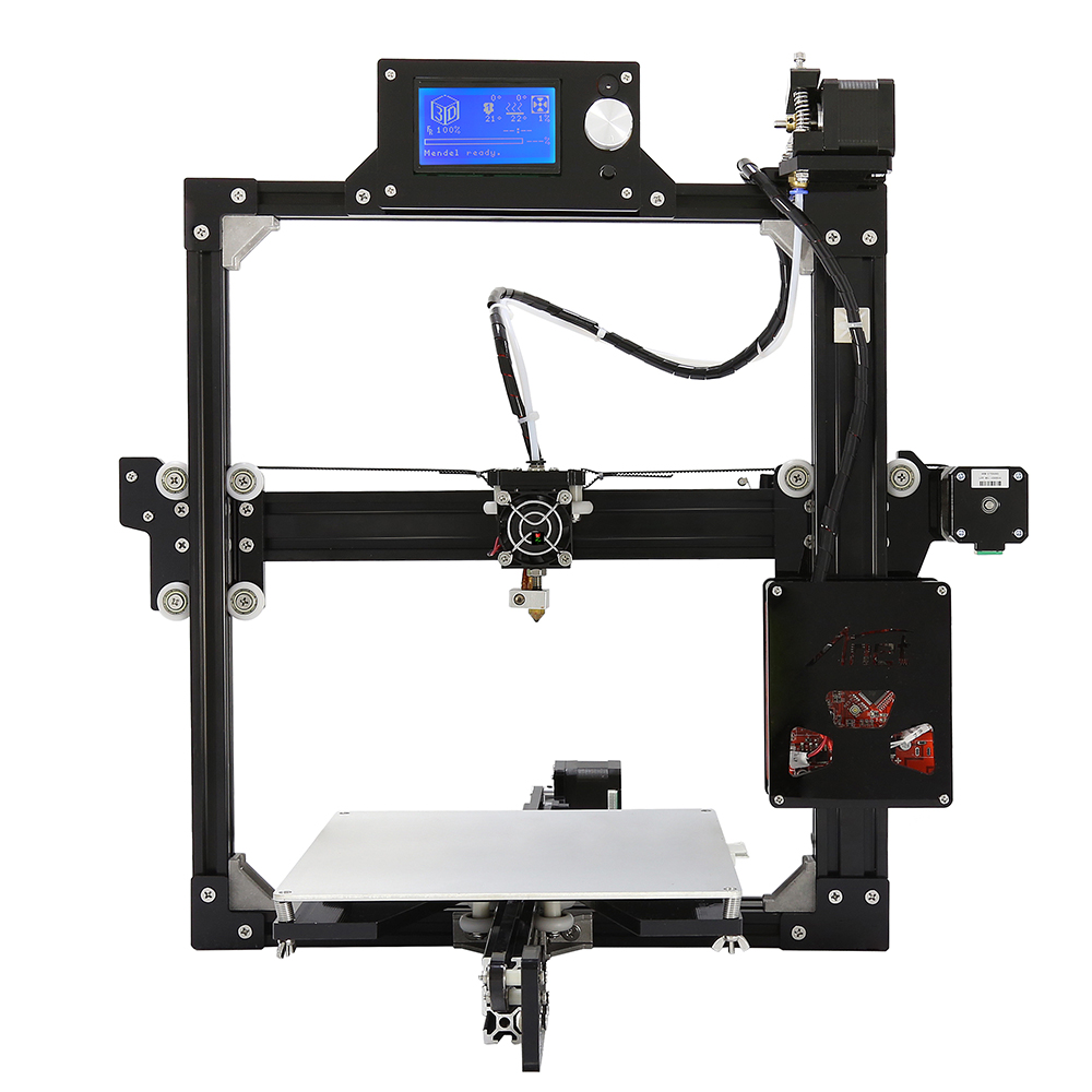 Easy Assembly Aluminium Frame Anet A2 Prusa DIY 3D Printer Kit with Large Printing Size 220