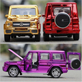2016 Hot Child Toy Cars Off-Road Vehicle suv Simulation Model Alloy Plating Four Colors Sound And Light Back To Power Car Gift