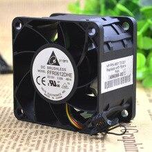 Для DELTA FFR0612DHE-8B16 AC/DC 12V 3.30A, 60x60x38 мм 40 мм 4-провод 6-контактный разъём Сервер площади вентилятора