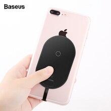 Baseus Qi Беспроводное зарядное устройство приемник для iPhone 7 6 6 S 5 Micro usb type C беспроводной зарядный разъем для samsung Xiaomi huawei