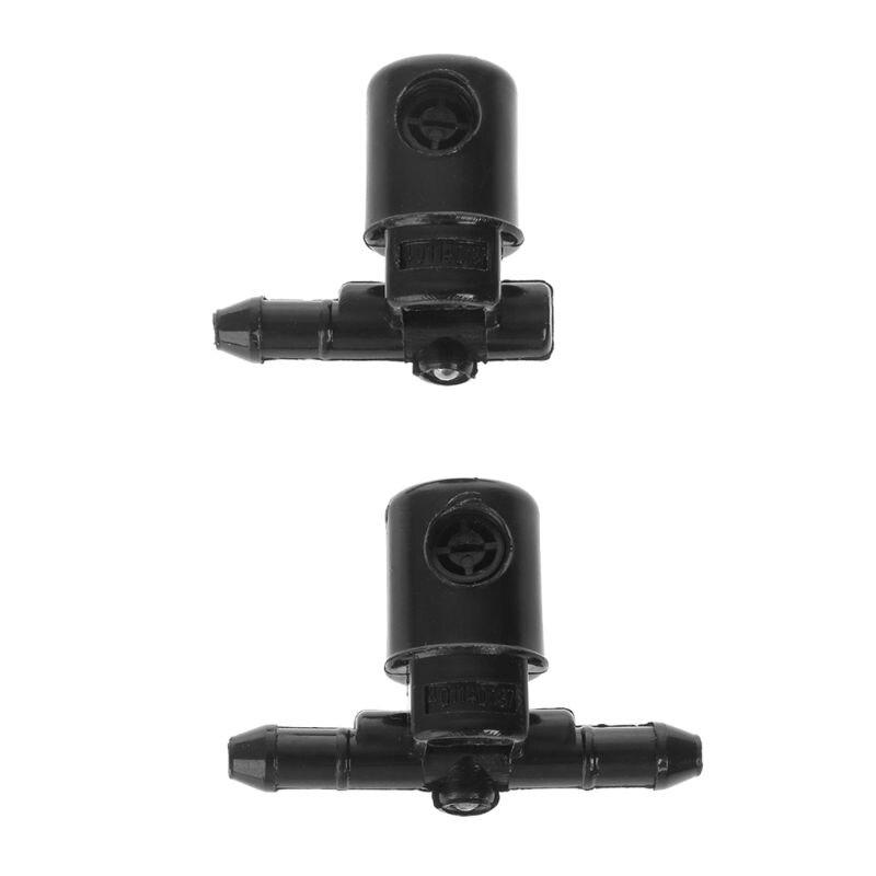 2Pcs Windscreen Washer Fan Spray Jets For Buick Opel 12782508 12782509 Function Water Nozzle Nov-29A