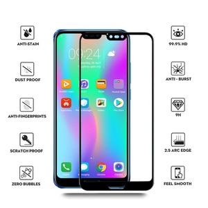 "Image 2 - Temperli cam Huawei onur 10 için koruyucu cam ekran koruyucu onur 10 cam Honor10 Film 5.84 ""COL L29 L29 tam kapak 9H"
