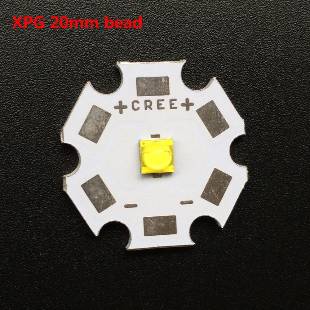 High quality DIY 16mm 20mm Board CREE XPG beads 3 0 3 6V high power font