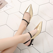 VALLU 2019 Women Shoes Pumps High Heels Genuine Leather Fashion Pointed Toe Lady Thin Heel