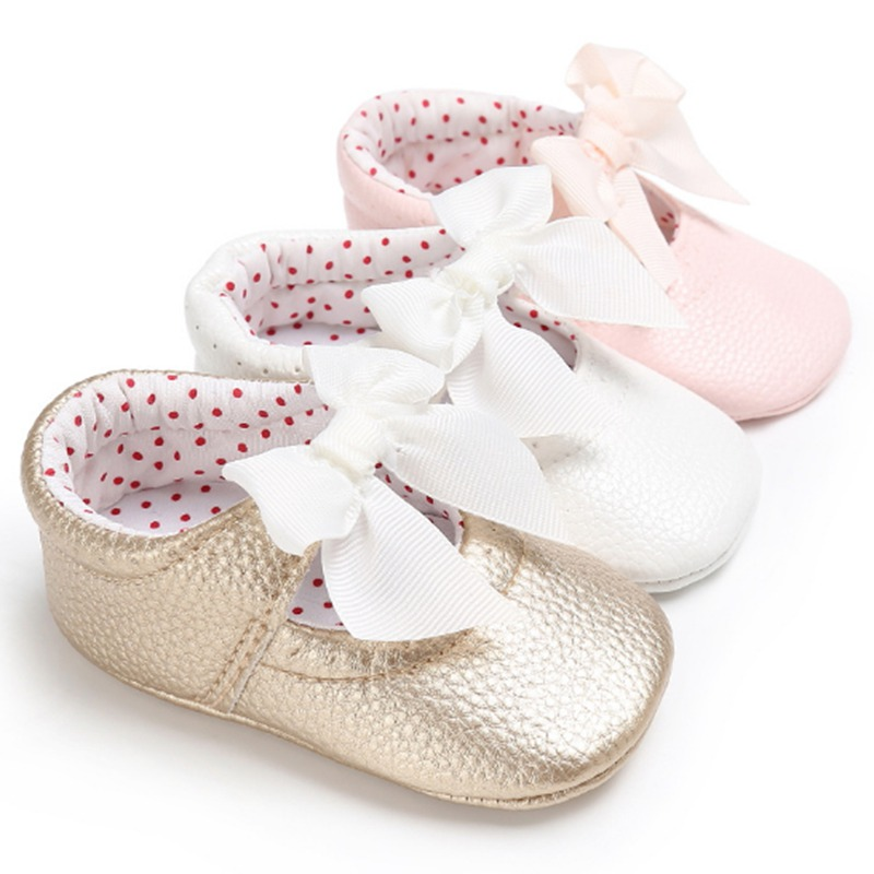 Popular Brand 2018 Bright Leather Baby Moccasins Skid-proof Sole Baby Girl First Walkers Newborn Sapatos Spring Summer Baby Shoes Bebe Zapatos Cheapest Price From Our Site Baby Shoes