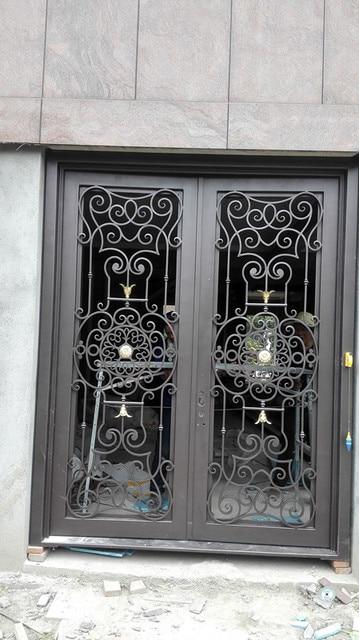 Wrought Iron Doors Iron Double Doors Iron Front Doors Iron Entry Doors  Hc Id2
